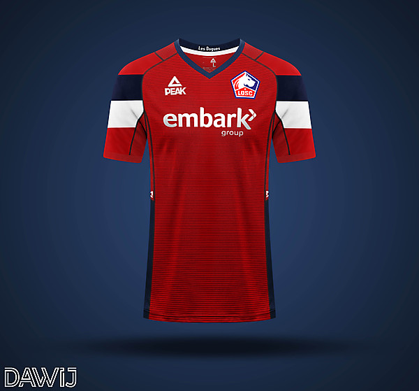 LOSC Lille - Home Kit