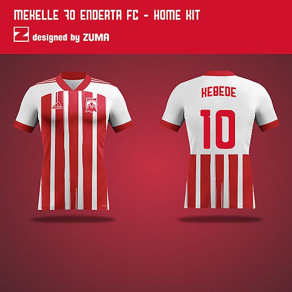 Mekelle 70 Enderta FC | Adidas | Home Kit