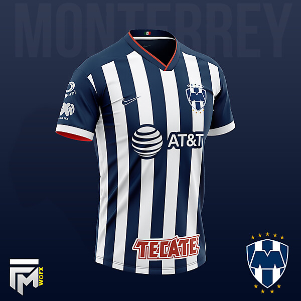 Monterrey Home Nike Concept