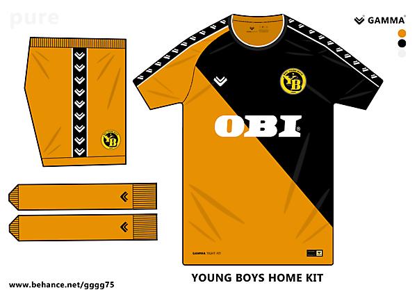 young boys home kit
