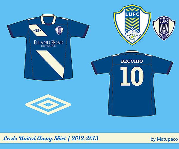 Leeds United Away version 1
