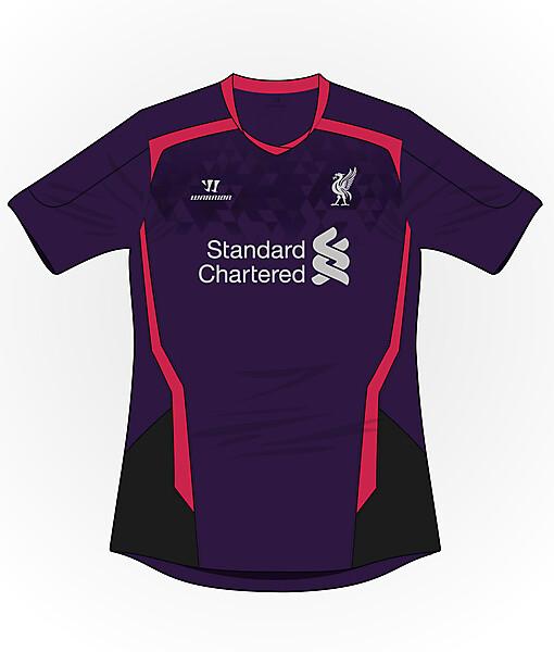 Liverpool #2 jersey