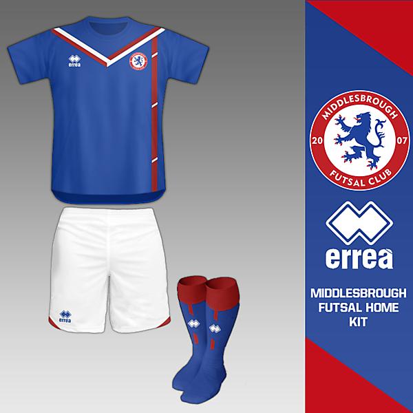 Middlesbrough Home Futsal Kit