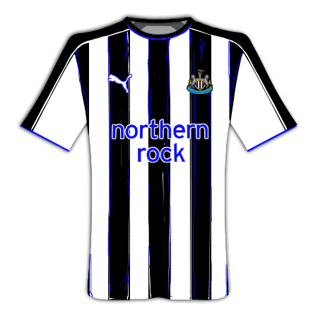 Newcastle Painted Stripes Home Kit