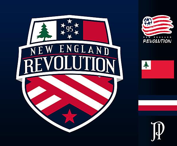 New England Revolution - Logo Rebrand