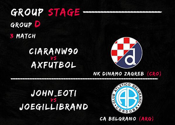 Group D - 3° Match