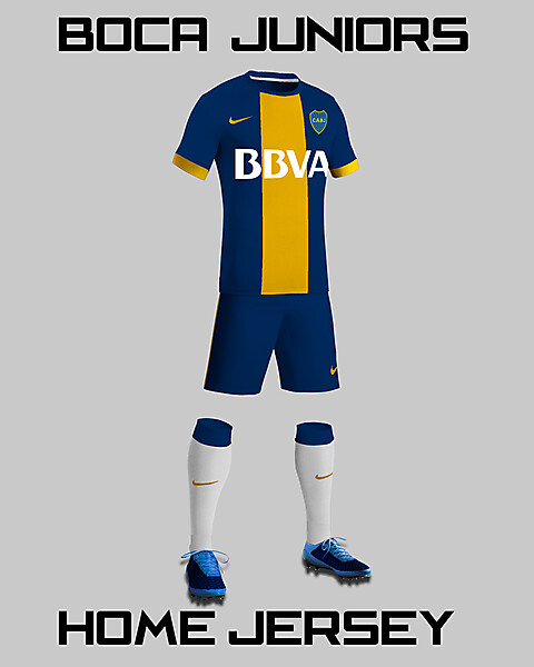 BOCA JUNIORS HOME JERSEY