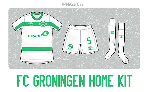 FC Groningen Home - Umbro