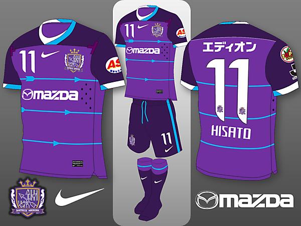 Sanfrecce Hiroshima Nike Home Kit Concept