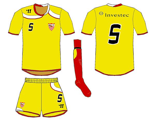 Warrior Sevilla Away Kit - Wighty93
