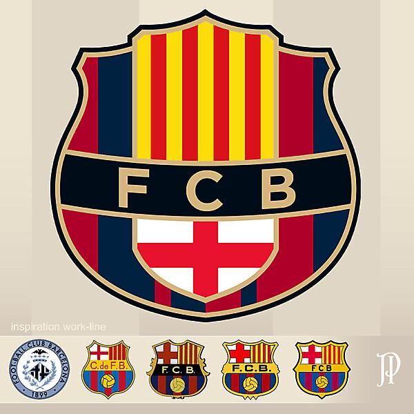 FC Barcelona - Logo Rebrand