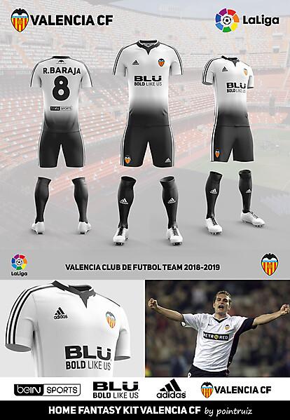 Home Fantasy Kit Valencia CF ver 4