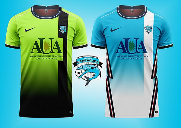 Barracuda FC concept