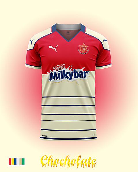 MilkyBar Cowboys FC-Concept kit
