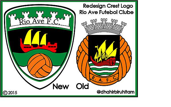 Rio Ave FC Redesign Crest Logo
