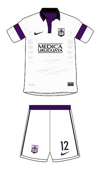 Defensor Sporting Club Away Kit