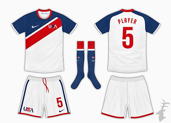 USA Futsal Home Kit 3 - Nike