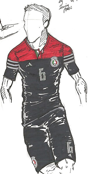 Mexico - WC14 Away