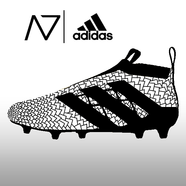 buy popular 6e79d ab1be Adidas ACE 16+ PureControl Custom by NACH0S