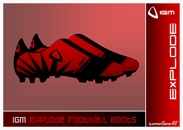 IGM Explode Football Boots