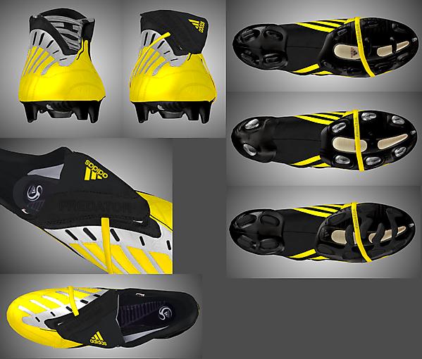 Adidas Predator Power Swerve Sunshine/Midnight