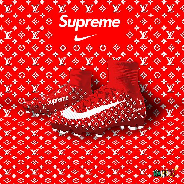 Supreme X Louis Vuitton Nike Superfly V by Nachos
