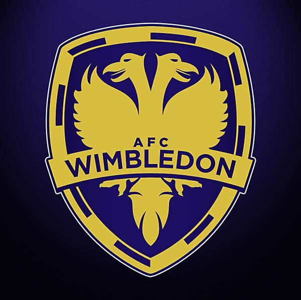 New AFC Wimbledon Crest