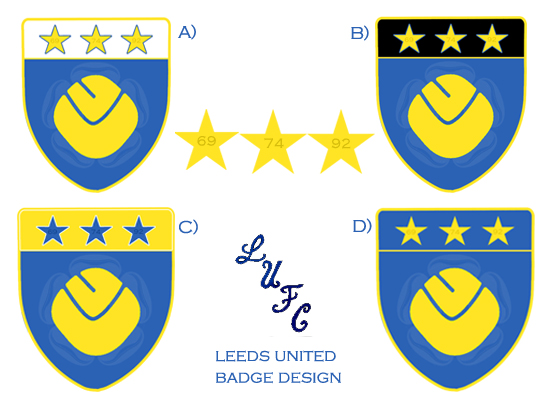 Leeds Utd Crest Design