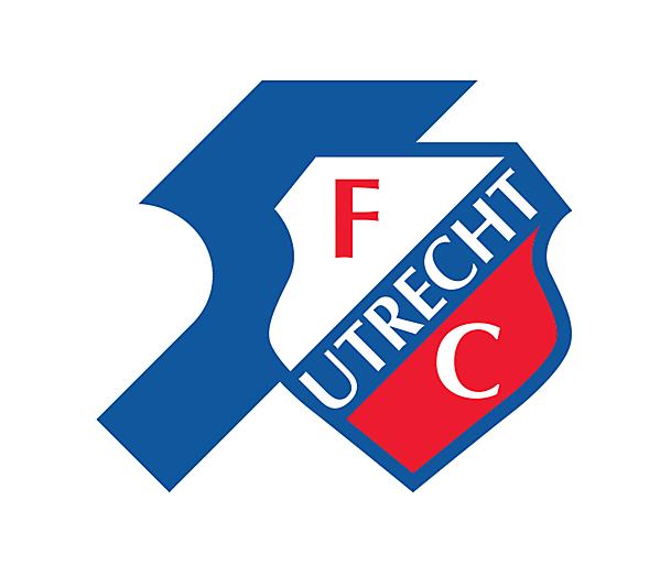 FC Utrecht Fifty Years logo.