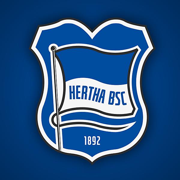 Hertha BSC   Crest Redesign