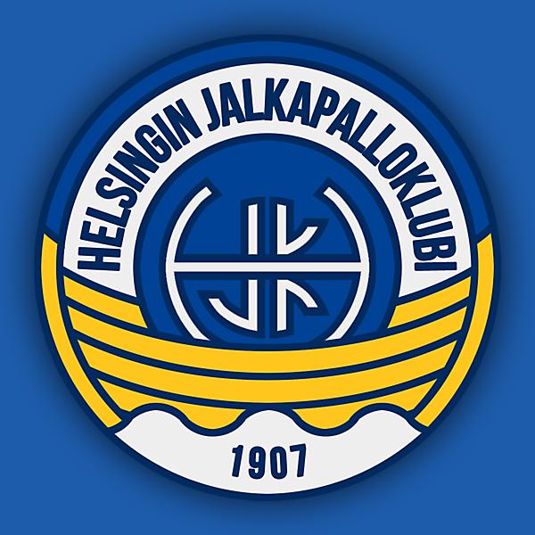 HJK Helsinki Crest Redesign - V2