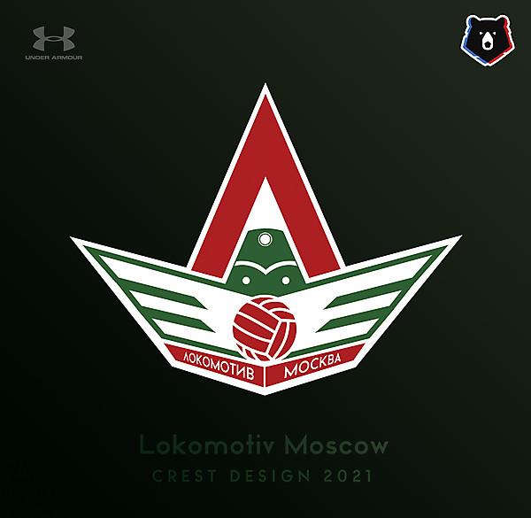 Lokomotiv Moskow Crest Design