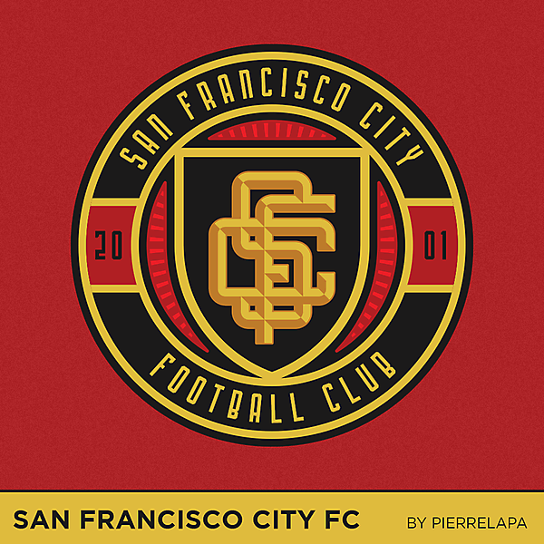 San Francisco City FC - redesign