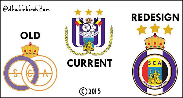 SC Anderlecht Redesign Crest