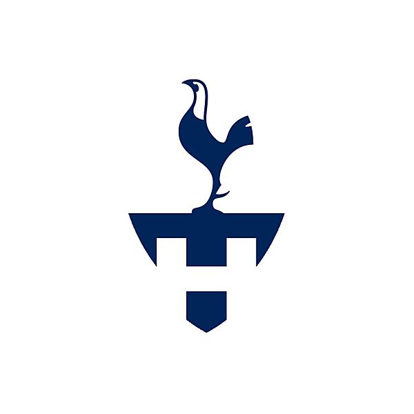 Tottenham Hotspur Crest Logo Update
