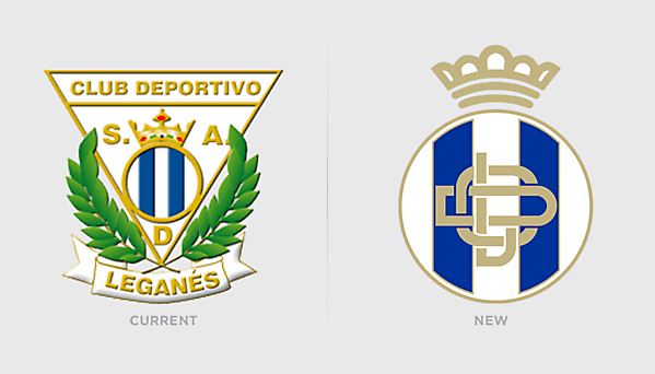 Updated CD Leganes Redesign Logo