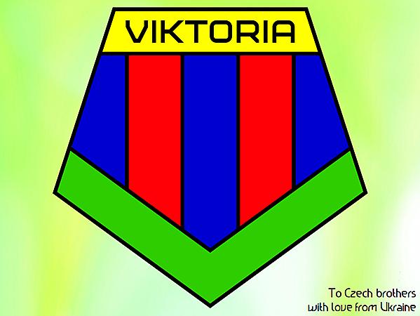 Viktoria Plzen new crest design