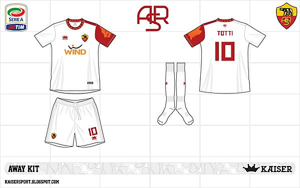 2012-13 as roma away kit