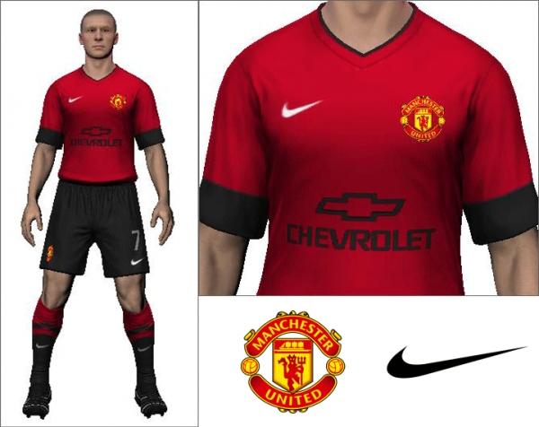2014/15 Manchester United Home Kit