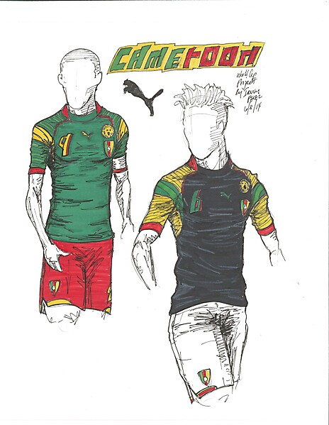 2014 World Cup Project by Irvingperceni - Group A - Cameroon