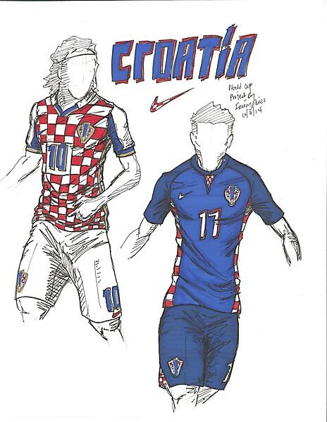 2014 World Cup Project by Irvingperceni - Group A - Croatia