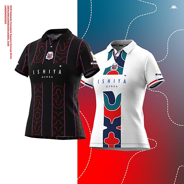 2021 Hokkaido Consadole Sapporo shirt concepts