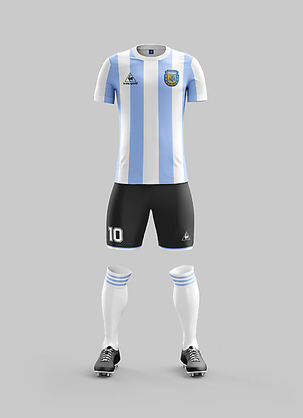 #9 - Argentina Home '86