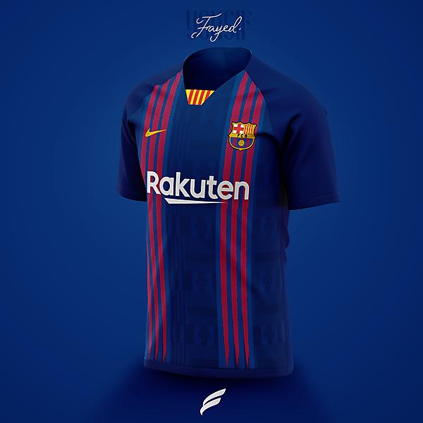 Fc Barcelona 21 22 Home Kit Leaked