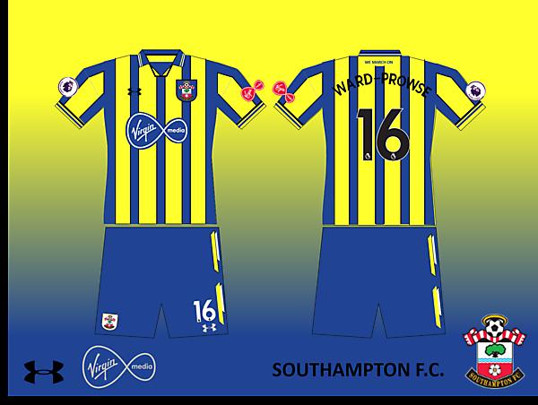 Southampton FC Away Kit 2019/2020 Retro V.1