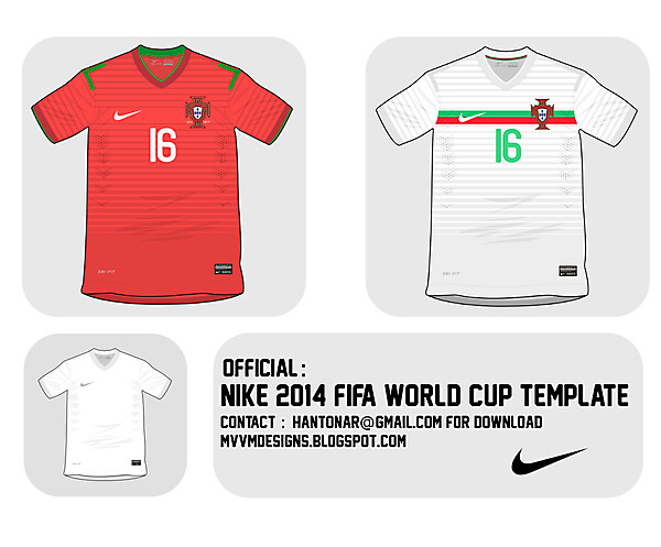 [ Template Download ] 2014 World Cup Template : Nike
