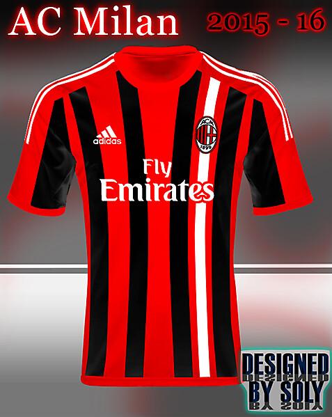 AC Milan kit design