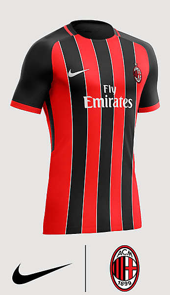 Nike Ac Milan Away Kits Mzrwgp