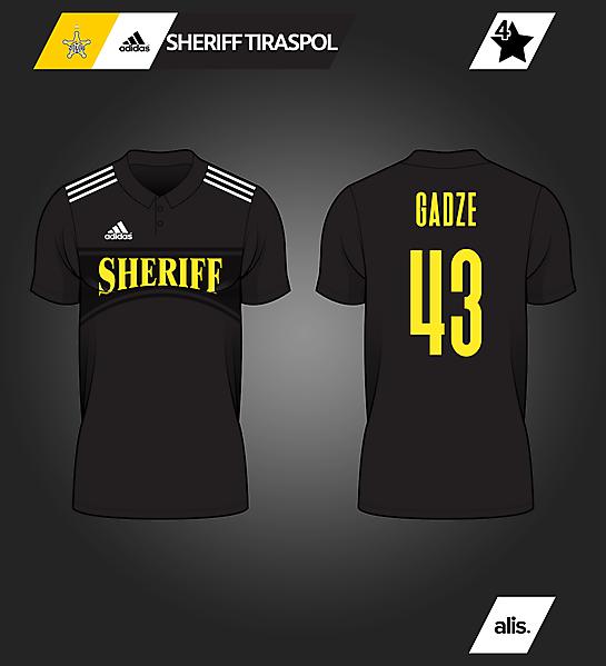 adidas X Sheriff Tiraspol - 4th