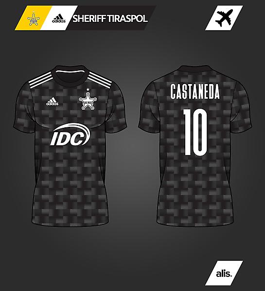 adidas X Sheriff Tiraspol - Away